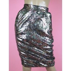 Vivienne Westwood Sequined Pencil Skirt Sz US 4